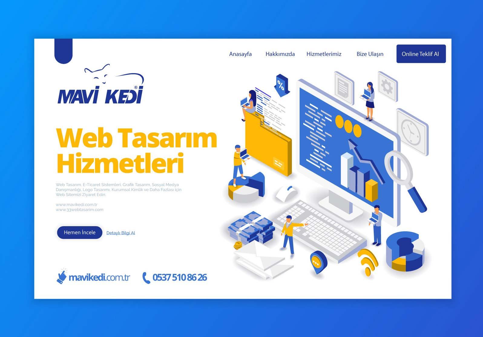 Türkiye'nin Her Yerine Web Tasarım Hizmeti